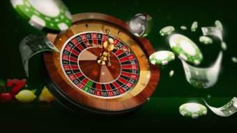 Online casinospill, roulettebord